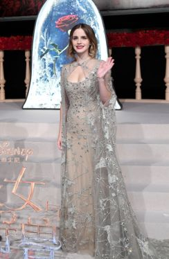 Emma Watson in Elie Saab via Elle