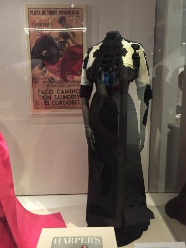 A bolero inspired by the bullfighter's jacket