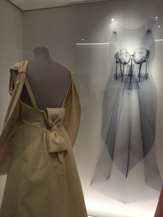 X-rays of the gowns allow visitors to see the construction inside