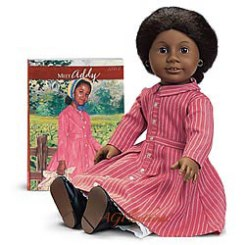 The original Addy whose story was one of a freed slave. Via AGPlaythings