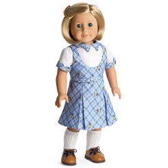 Kit's school outfit. Via American Girl Wiki
